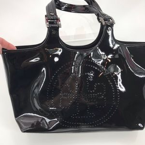 Vintage Tory Burch Patent Leather Tote